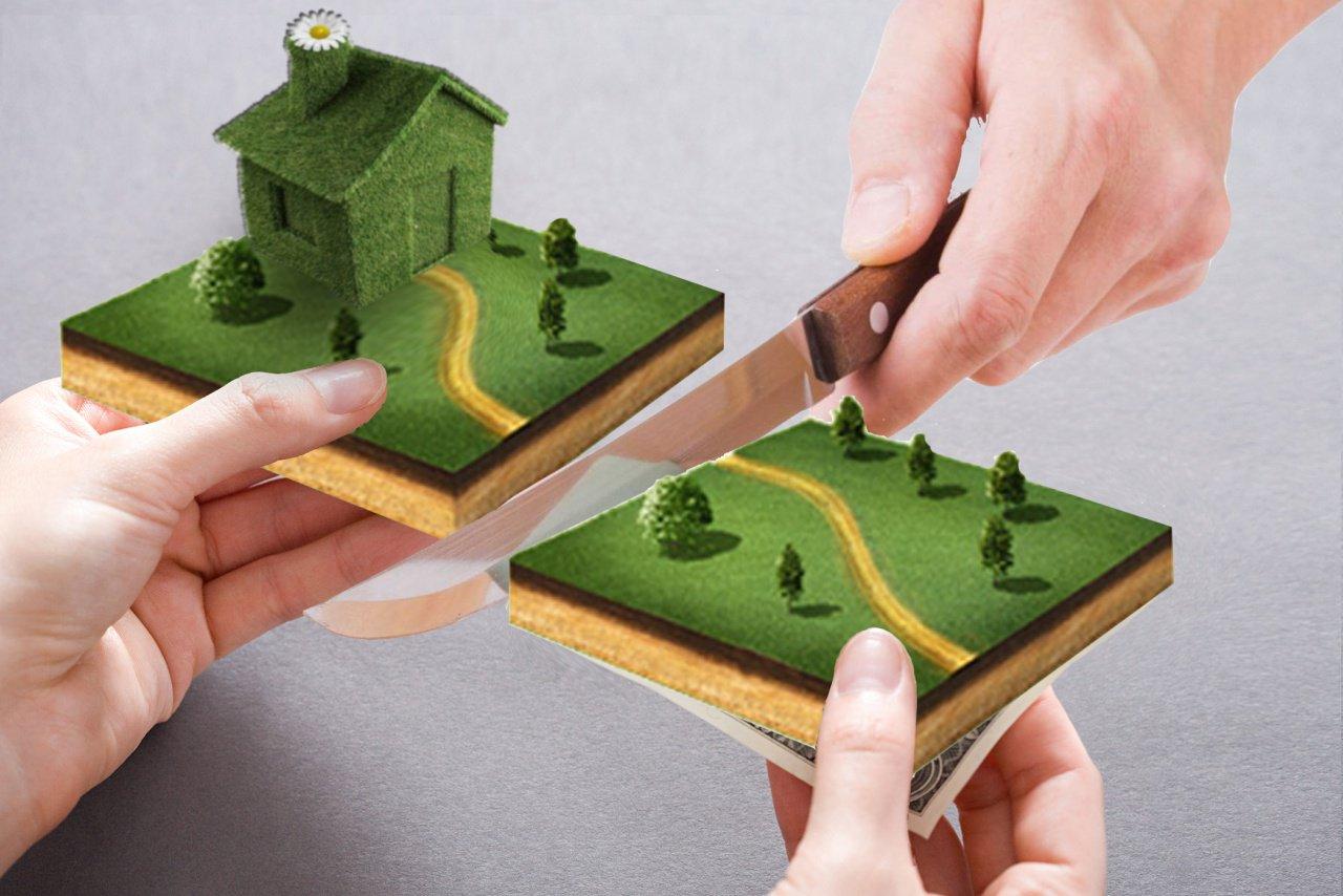 Как происходит продажа доли в доме и части земельного участка